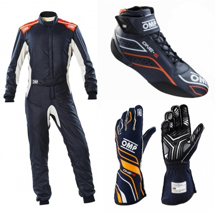 OMP One-S my2020 Navy Blue Racewear Package