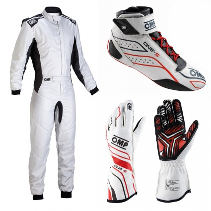 OMP One-S my2020 White Racewear Package