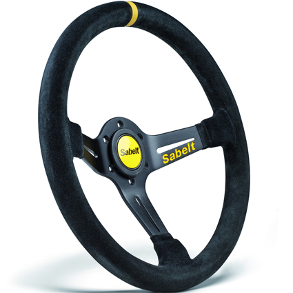 Sabelt SW-465 Black Suede Steering Wheel