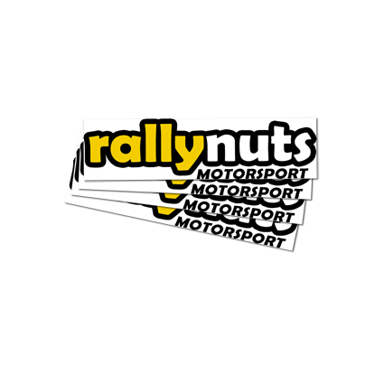 Rallynuts Small Self Adhesive Sticker