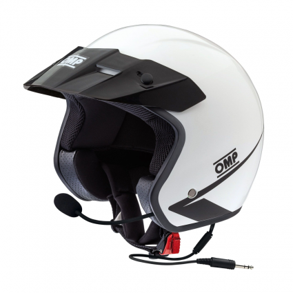 OMP Star Intercom Open Face Helmet