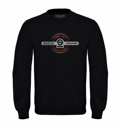 Sparco 1977 Sweatshirt Black