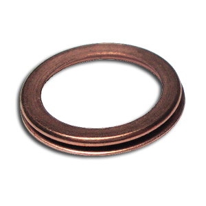 Moquip M10 Folded Copper Sealing Washer