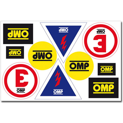 OMP Scrutineer Sticker Sheet