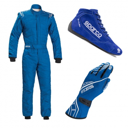 Sparco Sprint Racewear Package Blue