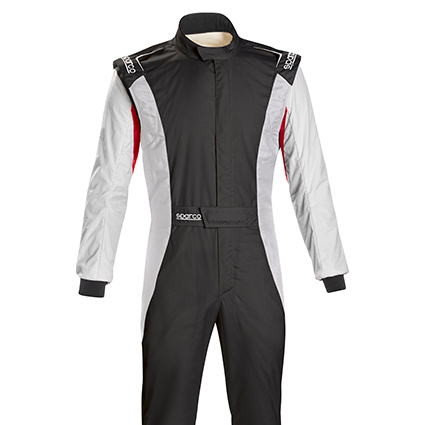 Sparco Competition RS-5.1 Race Suit Black/White