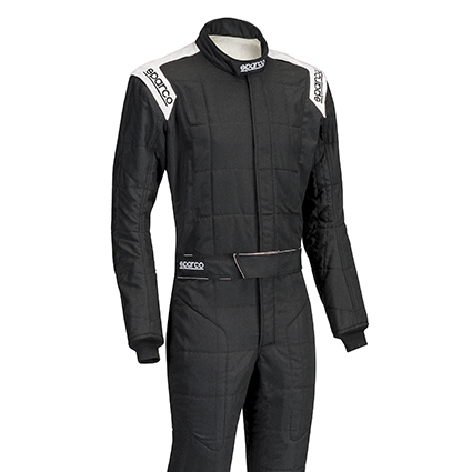 Sparco Conquest R506 Race Suit Black/White