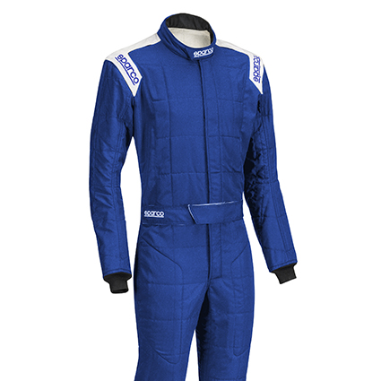 Sparco Conquest R506 Race Suit Blue/White