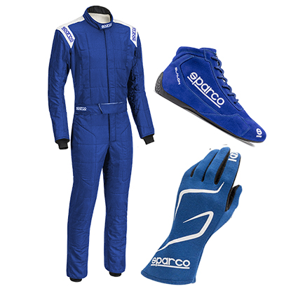 Sparco Conquest Racewear Package Blue
