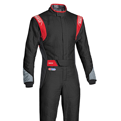 Sparco Eagle RS-8.2 Race Suit Black/Grey/Red