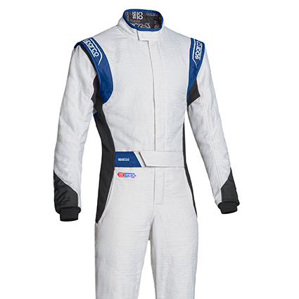 Sparco Eagle RS-8.2 Race Suit White/Black/Blue