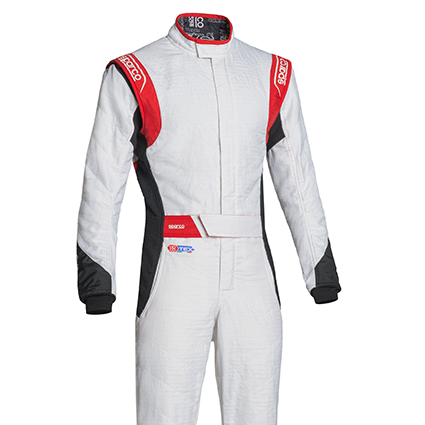 Sparco Eagle RS-8.2 Race Suit White/Black/Red