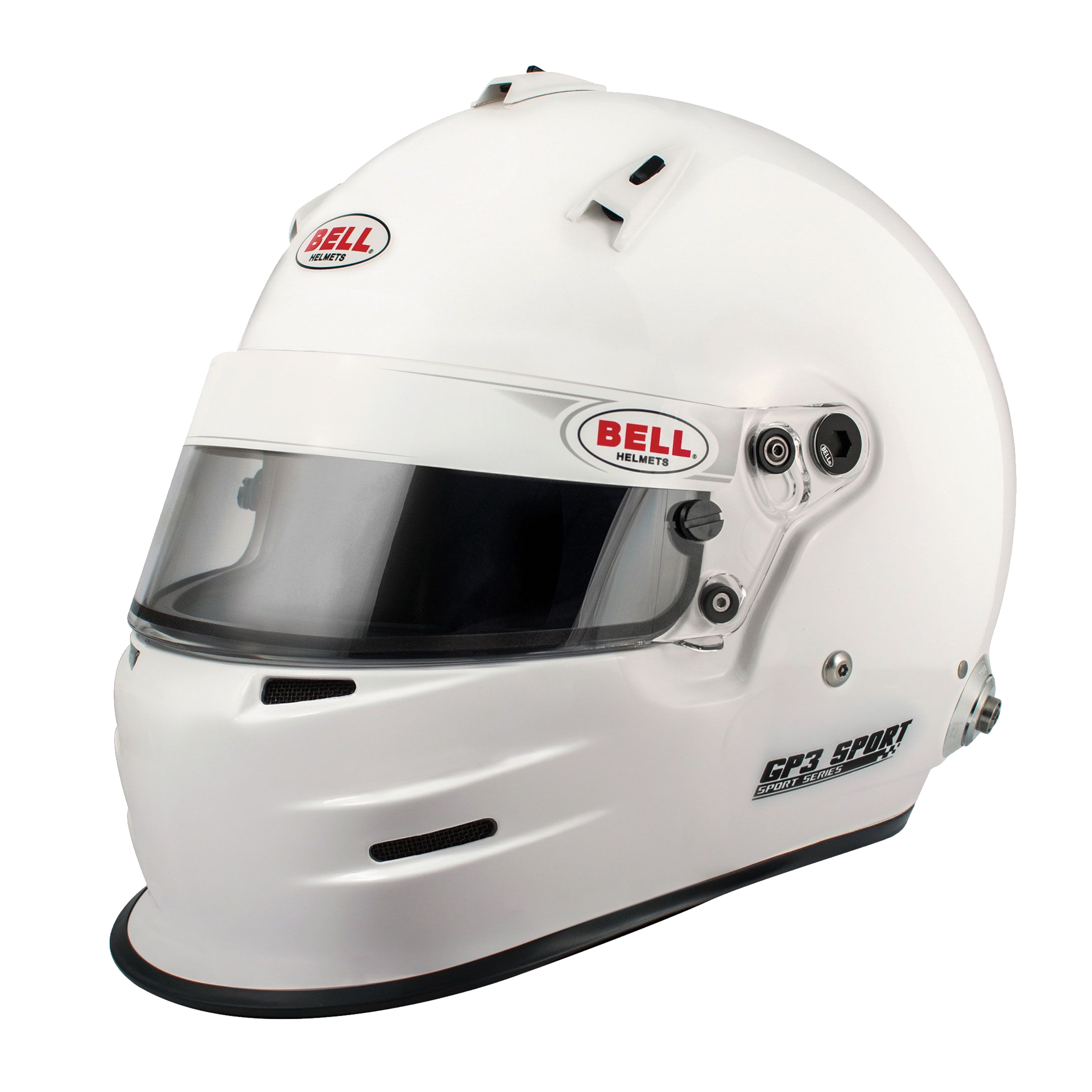 Bell Full Face Helmet >> Bell Gp3 Sport Rally Helmet White Bell Full Face Sport Helmet White