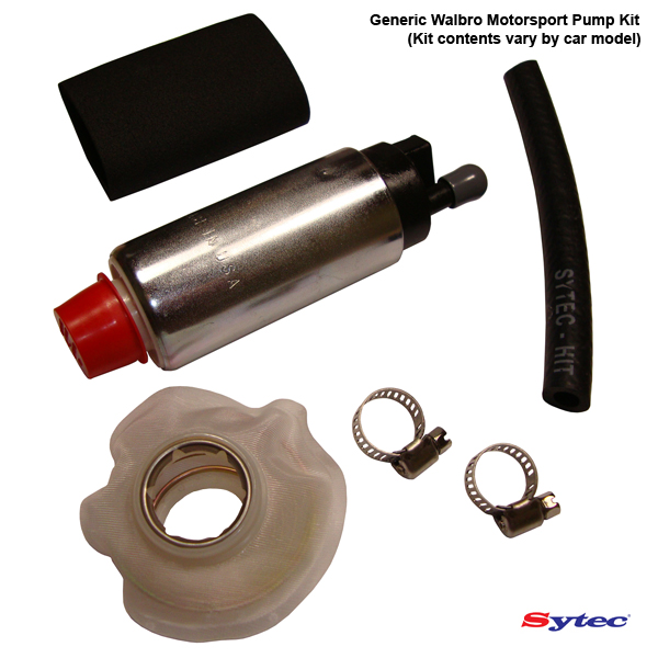 WALBRO 255 FUEL PUMP UPGRADE WITH FITTING KIT ITP048
