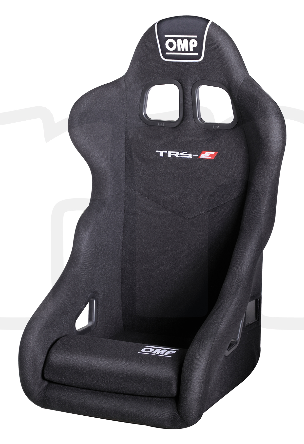 OMP Base Seat Cushion For Rally//Racing Seat In Black Universal Driver Accessory