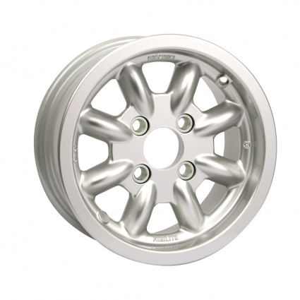 Genuine Minilite 5 x 12 Alloy Wheel Standard or Group 4 Fitting All Mini