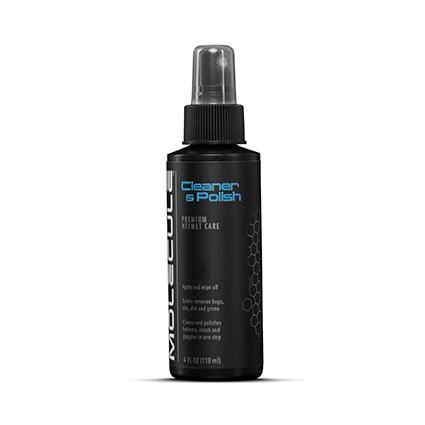 Molecule Helmet Cleaner and Polish 4oz. Sprayer