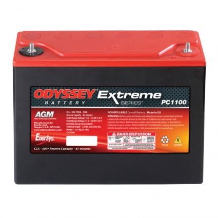 Odyssey PC1100 Extreme Racing 40 Battery