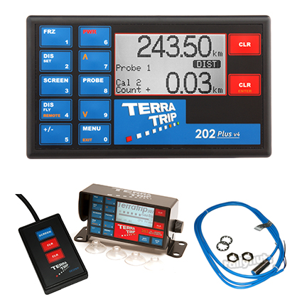 Terratrip 202 Plus V4 Tripmeter Package