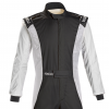 Sparco Competition Race Suit Black/White