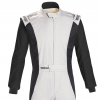 Sparco Competition Race Suit White/Black