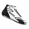 Sparco Skid Race Boots White/Black