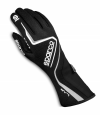 Sparco Lap Race Gloves Black/White