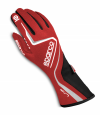 Sparco Lap Race Gloves Red/Black