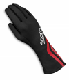 Sparco Land Classic Race Gloves Black/White