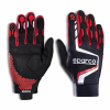Sparco Hypergrip+ Gloves Red
