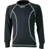 Sparco Basic Long Sleeve Kart Shirt Black