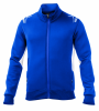 Sparco 2020 Full Zip Fleece Blue