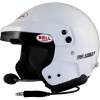 Bell Mag 9 Pro Rally Open Face Helmet White