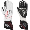 Alpinestars Tech 1-ZX Race Gloves White Black/Red