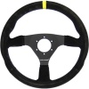Turn One Racing Steering Wheel Black Suede