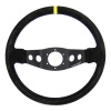 Turn One Corsa Steering Wheel Black Leather