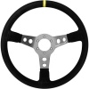 Turn One Nike Steering Wheel Black Suede Titanium Spokes