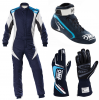 OMP First Evo Navy Blue Racewear Package