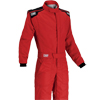 OMP First-S Race Suit Red/Black