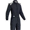 OMP First-S Race Suit Black/White