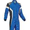 OMP Tecnica-S Race Suit Blue/White/Black