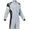 OMP Tecnica-S Race Suit Grey/White/Black