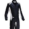 OMP One-S Race Suit Black/White
