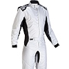 OMP One-S Race Suit Silver/Black