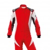 OMP First Evo my2020 Race Suit Red/White