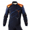 OMP One Art Suit Navy Blue/Orange