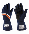 OMP Dijon Gloves  MY2021 Navy/White/Orange