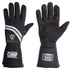 OMP Dijon Lamborghini Race Gloves Black