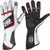 OMP One Evo Race Gloves White/Black/Red