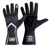 OMP Technica-S Race Gloves Black/White